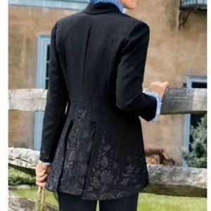 Soft Surroundings Label Noir Soignee Jacket small